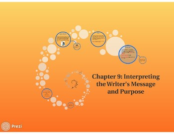 Interpreting the Writer's Message and Purpose