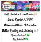 Interpretive Assessment - Listening and Reading - Medical
