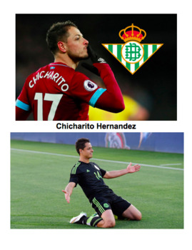 Interpretive Listening Activity | Los deportes Chicharito Hernández Monica Puig