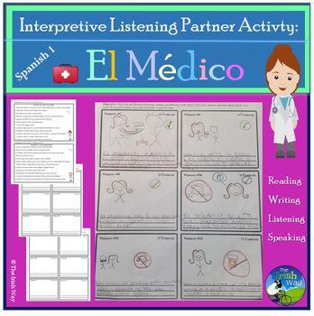 El Médico - Medical Unit - Interpretive Listening Partner Activity