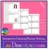 Interpretive Listening - Las Descripciones y Las Personalidades II- Partner Act.