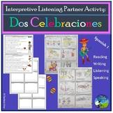 Unas Celebraciones - Party Celebrations - Interpretive Listening Partner Activ.