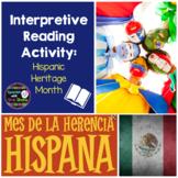 Interpretive Reading Activity: Hispanic Heritage Month Infographic
