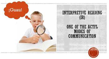 Interpretive reading:  Health and wellness