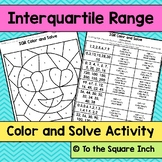 Interquartile Range Color and Solve