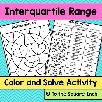 Range And Interquartile Range Teaching Resources Teachers Pay Teachers