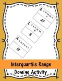 Interquartile Range Domino Activity