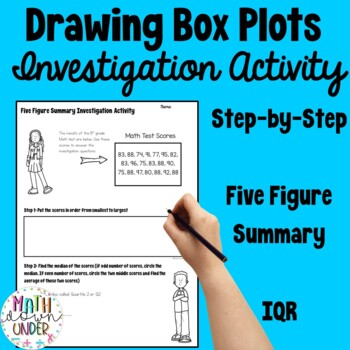 Interquartile Range, five figure summary, box and whisker plots Activity!