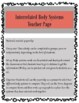 Interrelated Body Systems Lesson Activity