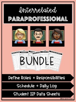 Interrelated Special Education Para Forms