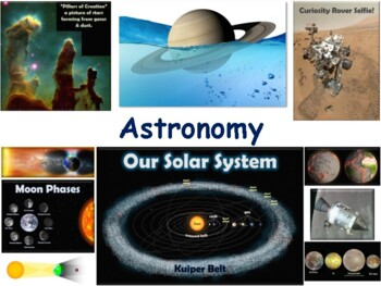Interrelationships in Space Lesson - classroom unit, study