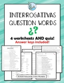 Interrogativas Spanish question words