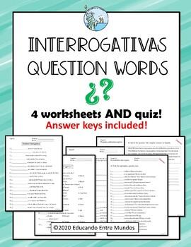 Interrogativas Spanish question words