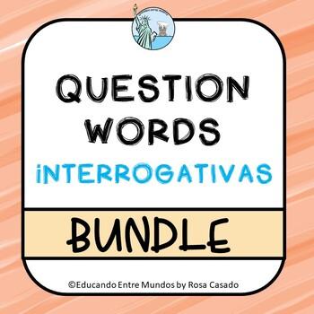 Interrogativas Spanish question words BUNDLE Save 20%