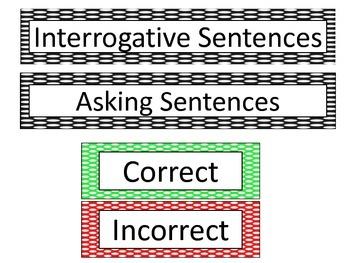 Interrogative-Asking Sentence Sort