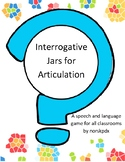 Interrogative Jars for Speech and Articulation (English Version)
