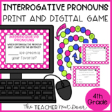 Interrogative Pronouns Game   Interrogative Pronouns Center Activity