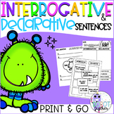 Interrogative and Declarative Sentences
