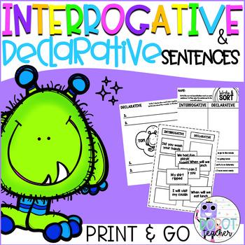 Interrogative and Declarative Sentence Sort
