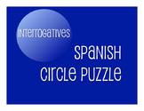 Spanish Interrogatives Circle Puzzle