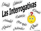 Spanish Interrogatives Flash Cards, Reference, Practice, Bulletin Board