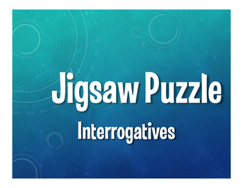 Spanish Interrogatives Jigsaw Puzzle
