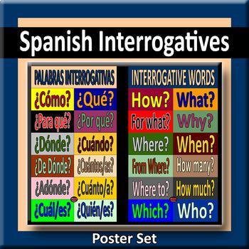 Interrogatives Poster Pair