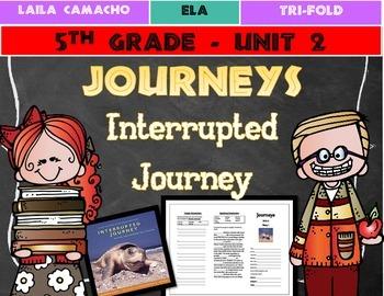 Journeys Grade 5 Trifold (Interrupted Journey: Saving Enda