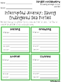 Interrupted Journey Vocabulary Grids