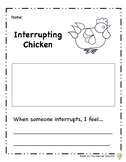 Interrupting Chicken Activities