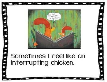 Interrupting Chicken Social Story All About Expectations of Interrupting
