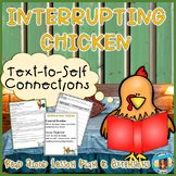 Interrupting Chicken Text-to-Self Connections Read Aloud Lesson Plan