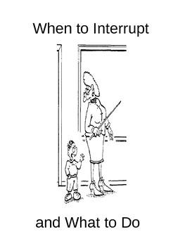 Interrupting Lesson