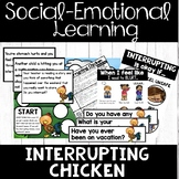Interrupting - Social Skills  -  Interrupting Chicken Book Companion