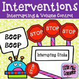 Interrupting and Volume Control Interventions and Data Tracker