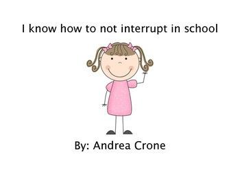 Social Story - Interrupting in School