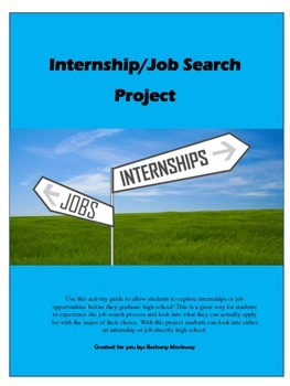 Internship Project: Perfect for any class!