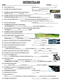 Interstellar - 36 comprehension questions with answers