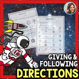 Following Directions | Speech Therapy Worksheets