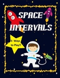 Music Interval Game: Space Intervals