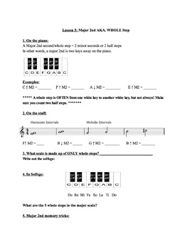 Interval Lessons for Intermediate Choir