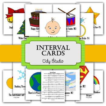 Interval Song Cards