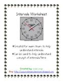 Interval Worksheet