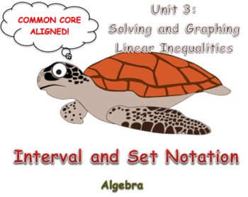 Interval and Set Notation