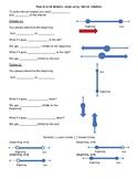 Domain, range using Interval notation note taking