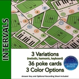 Intervals Poke Cards