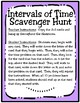 Intervals of Time Scavenger Hunt (TEKS 4.8C)