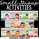 Small Group Activities Bundle- Early Literacy Skills