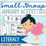 Small Group Activities for January- Early Literacy