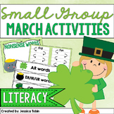 Small Group Activities for March- Early Literacy
